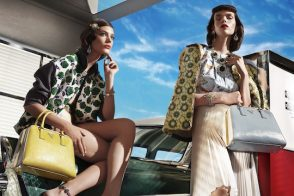 Check out Prada's Spring 2012 ads!