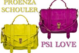 Want it Wednesday: Proenza Schouler PS1 in bright Holiday Colors