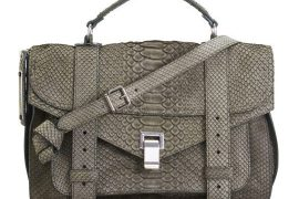Friday Funday: The Proenza Schouler Python Suede PS1 Bag