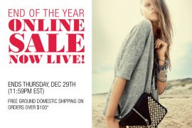 The Rebecca Minkoff End of the Year Sale starts now!