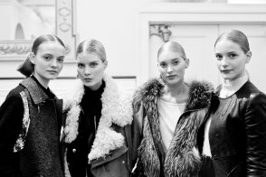 A look backstage: Oscar de la Renta Pre-Fall