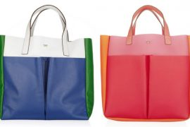 Anya Hindmarch gives you two options: leather or rubber
