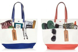 Anya Hindmarch's clever canvas totes are for work or play – literally.