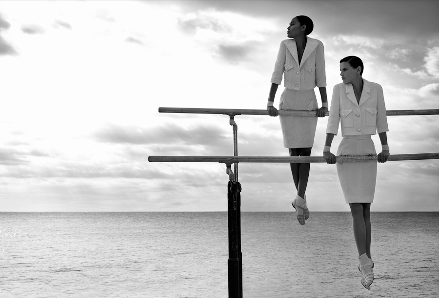 A look at the Chanel Spring-Summer 2012 Ad Campaign ...