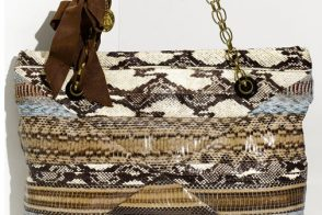 "Fill in the Blank: ""The Lanvin Amalia Patchwork Snakeskin Tote is…"""