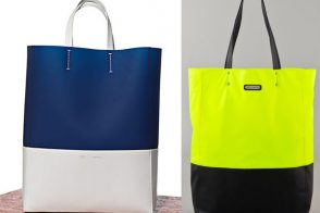 The Look for Less: Colorblocked Totes