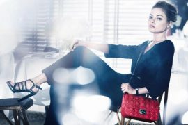 Mila Kunis makes her handbag debut for Christian Dior