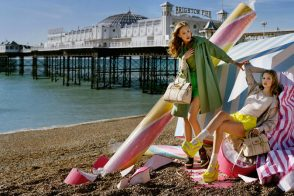 Mulberry's Spring 2012 ads are beachy keen