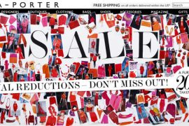 Net-a-Porter takes an extra 20% off of its sale prices!
