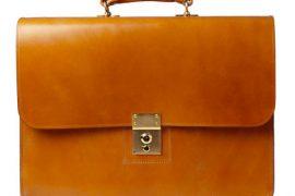 Man Bag Monday: Swaine Adeney Brigg Westminster II Bridle Leather Briefcase