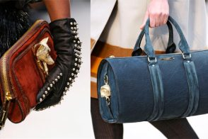 Fashion Week Handbags: Burberry Prorsum Fall 2012