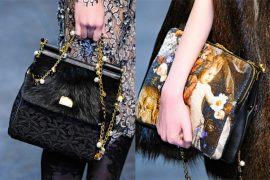 Fashion Week Handbags: Dolce & Gabbana Fall 2012