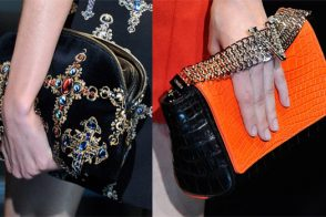 Fashion Week Handbags: Versace Fall 2012