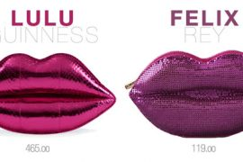 Look for Less: Lips Clutch