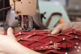 Behind the Scenes: The Making of a Valentino Rockstud Bag