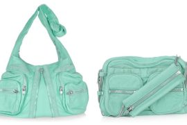 Alexander Wang impresses with minty fresh bags