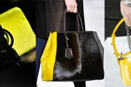 The Biggest Trends of Fall 2012: Calf Hair and Velvet