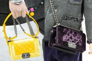 Fashion Week Handbags: Chanel Fall 2012