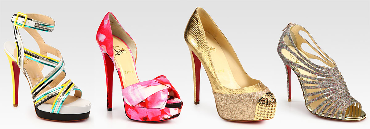 christian louboutin shoes at saks