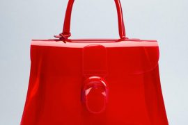 Delvaux has created perhaps the only vinyl handbag I've ever wanted