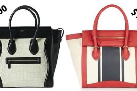 Look for Less: Celine Luggage Tote