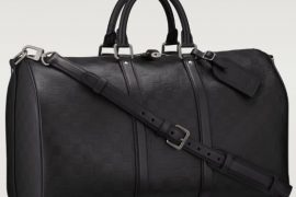 Man Bag Monday: Louis Vuitton Keepall 45 in Damier Infini