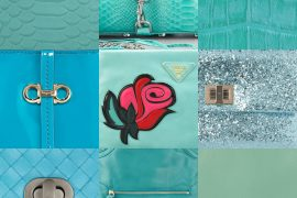March Birthday Gift Guide: Aquamarine Handbags