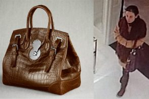 Thief steals $17,000 handbag from Ralph Lauren's New York flagship store