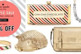 Check out the Kate Spade Online Sample Sale