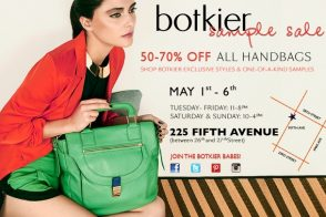 New Yorkers, shop the Botkier Sample Sale starting tomorrow!