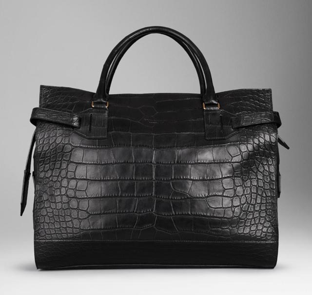 Burberry Large Alligator Holdall 37 000 Via