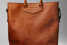 Man Bag Monday: Burberry Large Washed Leather Tote
