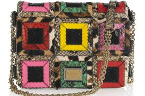 Fill in the Blank: The Dolce & Gabbana Patchwork Shoulder Bag is…""