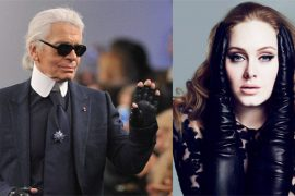 Karl Lagerfeld rumored to have apologized to Adele with a truckload of Chanel bags