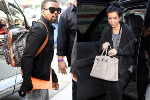 Kim Kardashian and Kanye West: The greatest handbag romance ever told?