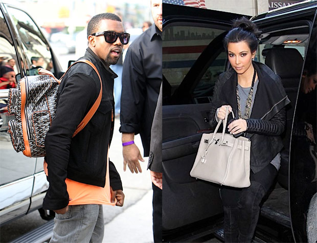 f7ce0c05bd95 Kim Kardashian and Kanye West  The greatest handbag romance ever told