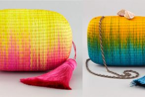 The Look for Less: Ombre Woven Clutches