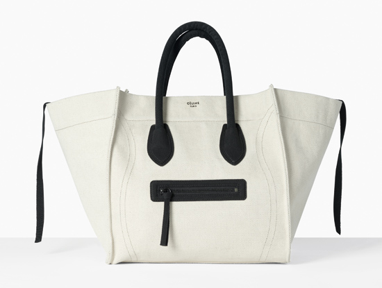 cc0cd05546 How much would you pay for a Celine Canvas Phantom Luggage Tote ...