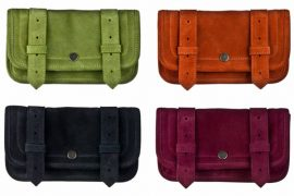 Proenza Schouler PS1 Wallet now available in suede