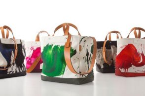 Coach teams up with artist James Nares for limited edition totes