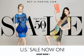 Net A Porter Sale Time: Semi-Annual U.S. Sale goes live NOW