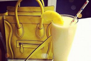 Mellow Yellow: Celine Nano in Citron