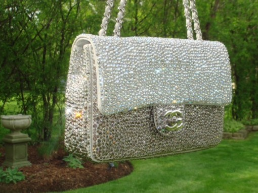 PurseForum Reveal: Chanel Classic Flap Strass Encrusted