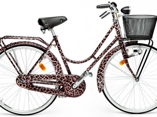 Dolce and Gabbana brings pizazz with their Animalier Bicycle