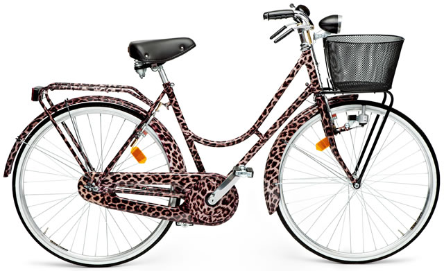 Dolce Gabbana Animalier Bicycle
