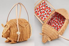 And then there was the Kate Spade Wicker Armadillo Bag