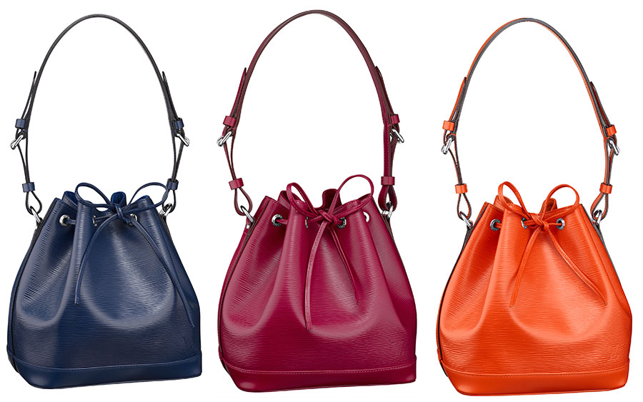 ff1b3e9906470 The Rainbow of Louis Vuitton Epi Leather Colors - PurseBlog