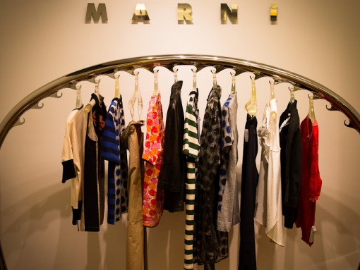 Take a look inside the Saks Fifth Avenue World of Marni launch!