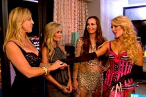 "RHOC: ""It's the hair that bites the dog…wait…"""