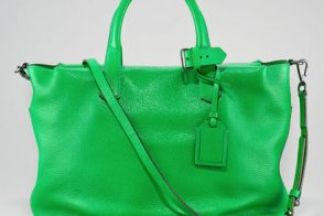 Reed Krakoff gives us a really great green